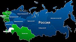 map russian